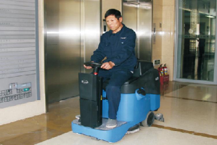 嘉得力GT70駕駛式洗地機