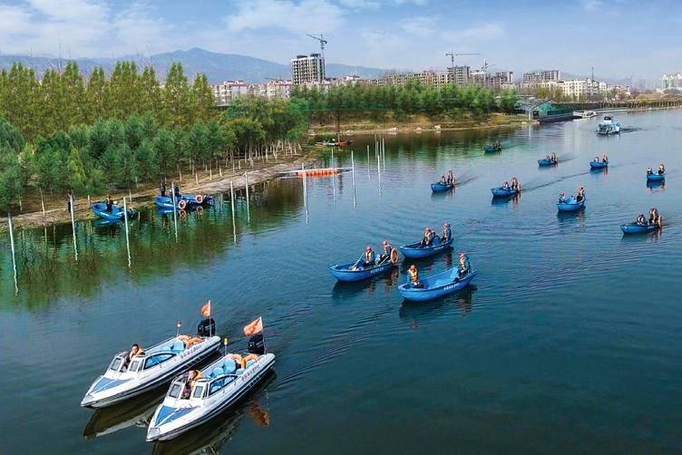 晉陽湖作業